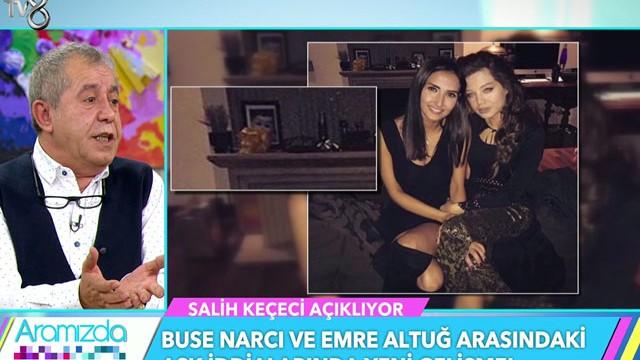 Buse Narcı'nın Emre Altuğ'un evindeki fotoğrafı ortaya çıktı