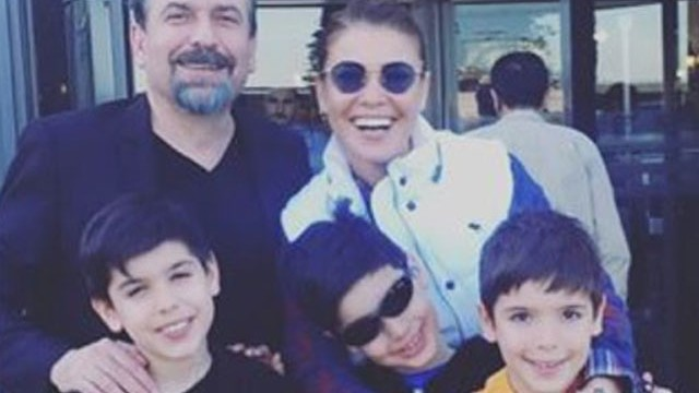Gülben Ergen ve Mustafa Erdoğan çocukları için buluştu