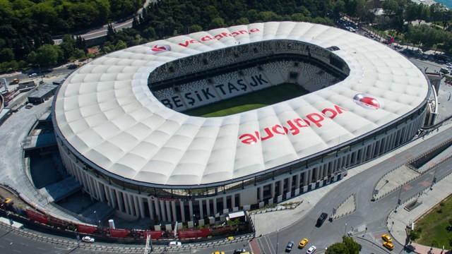 Vodafone Arena, en iyiler arasında