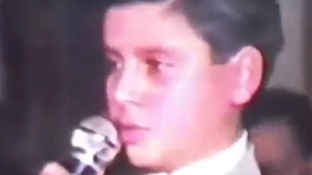 Alişan'ın 11 yaşındaki videosu sosyal medyayı salladı!