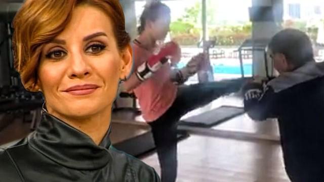 Esra Erol'den eşi Ali Özbir'e gözdağı! 'Ali kendine dikkat et'