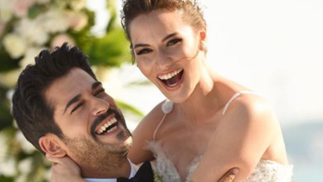 Fahriye Evcen ve Burak Özçivit'ten düğün sonrası ilk paylaşım