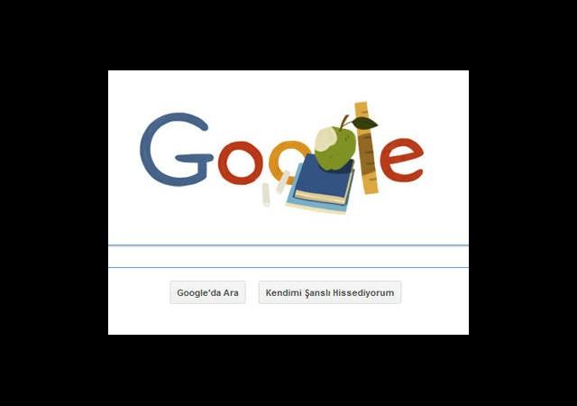 Google Öğretmenler Gününü Unutmadı