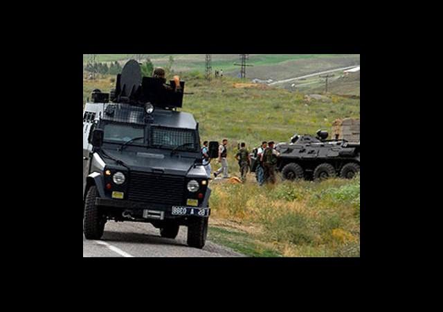 Askeri Araca Silahlı Saldırı