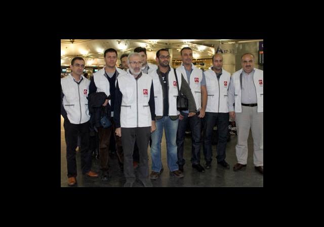 Yeryüzü Doktorları Gazze'ye Gitti