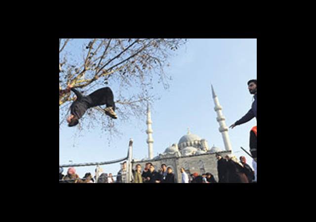 İstanbul'un 'Parkurcuları'