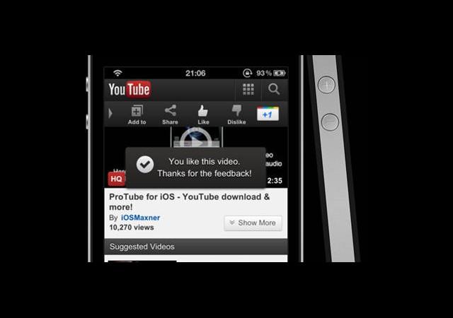 YouTube Uygulaması iOS 6′da Yer Almayacak