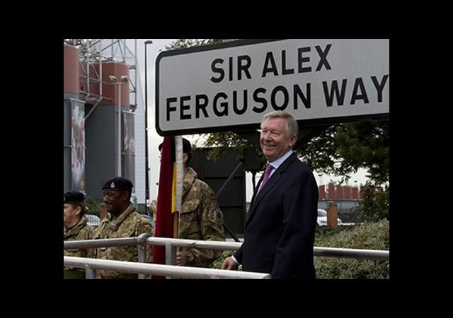 Ferguson'a Büyük Onur