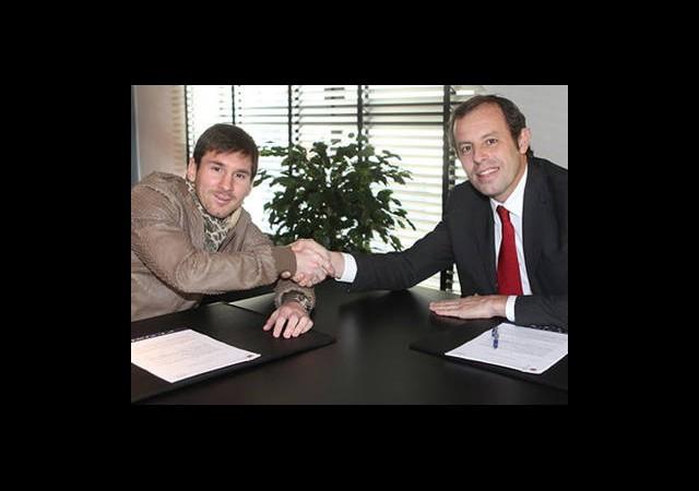 Messi 31 Yaşına Kadar Barcelona Forması Giyecek