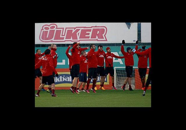 Trabzonspor'da Beşiktaş Hazırlığı