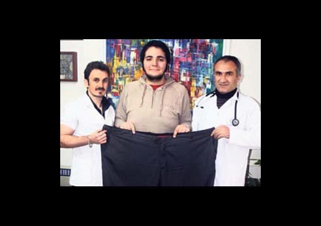 10 Ayda Tam 100 Kilo Verdi