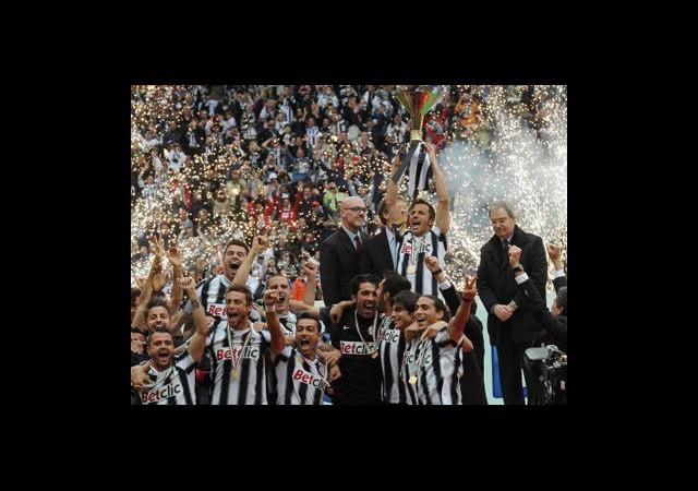 Namağlup Şampiyon Juventus