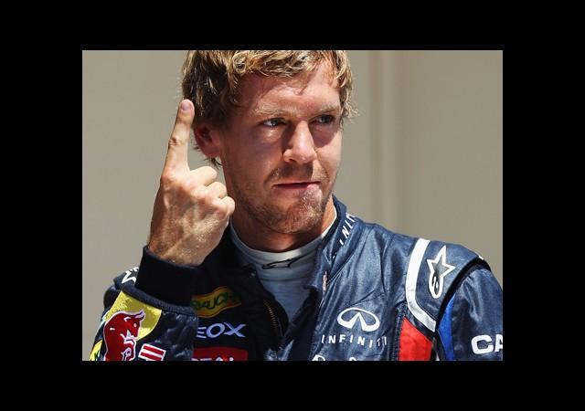 İlk Sıra Vettel'in