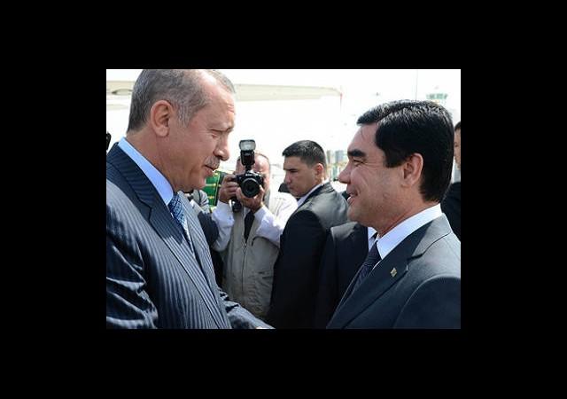 Başbakan Erdoğan Türkmenistan'da