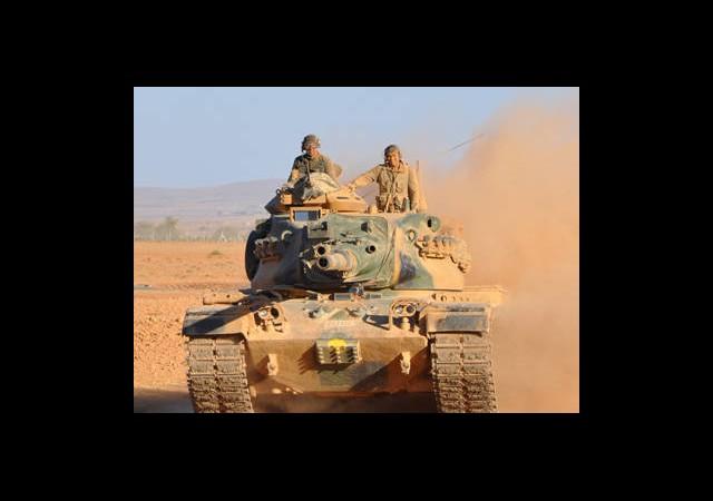 TSK Atlıları Tanklarla Durdurdu!