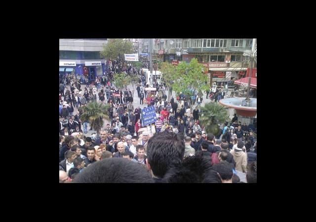 Ulaşım Zammını Protesto Ettiler