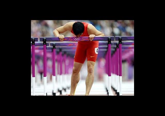 Alkışlar Liu Xiang'a