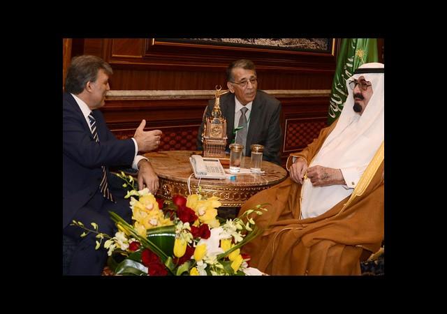 Gül, Suudi Arabistan Kralı İle Görüştü