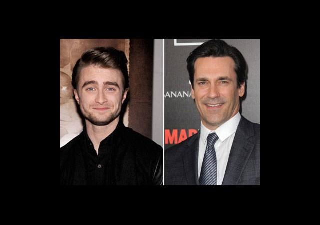 Daniel Radcliffe Ve Don Draper Bir Arada!
