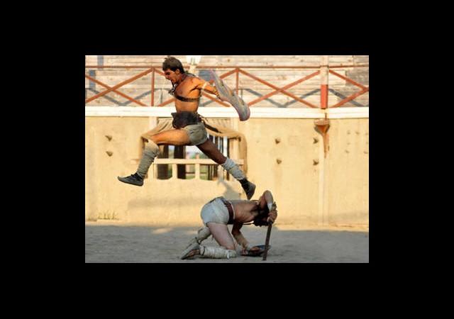 Yerli ''Spartaküsler'' Arenaya Çıkıyor