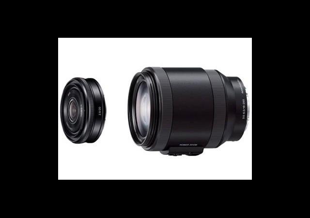 Sony'nin Yeni NEX Lensleri