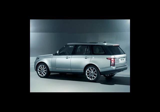 İşte 2013 Model Range Rover