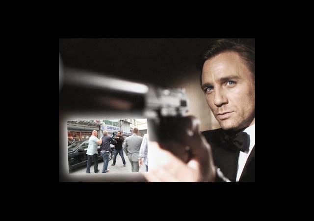 James Bond Setinde Gerginlik