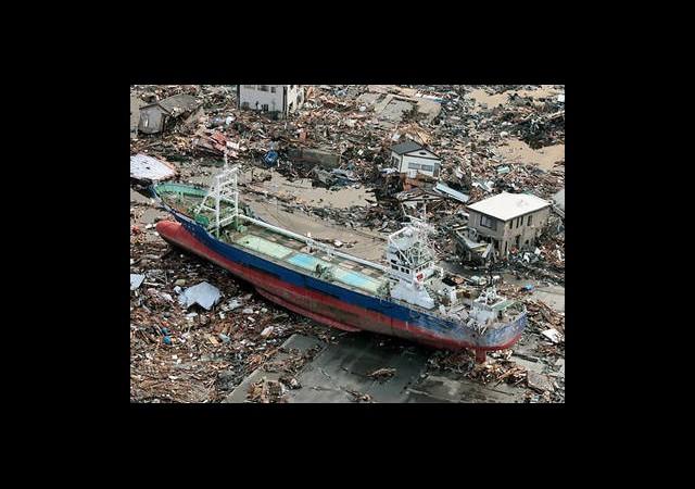 Tsunamiden Kanada'ya