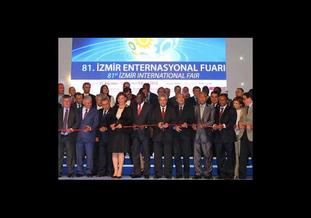 81. İzmir Enternasyonal Fuarı Açıldı