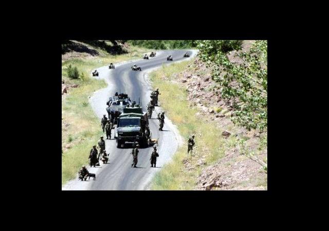 Kato'da Askeri Araca Saldırı