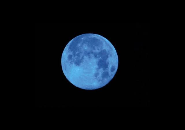 Gökyüzünde Mavi Dolunay Heyecanı!