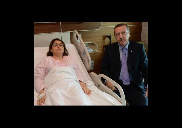 Erdoğan'danŞahin'e Ziyaret
