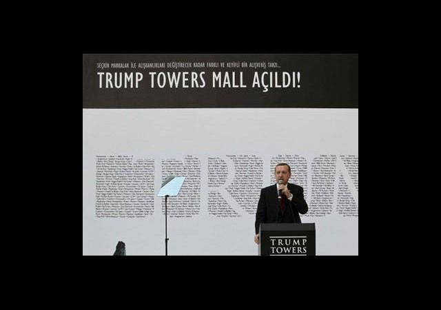 Trump Towers Mall Açıldı