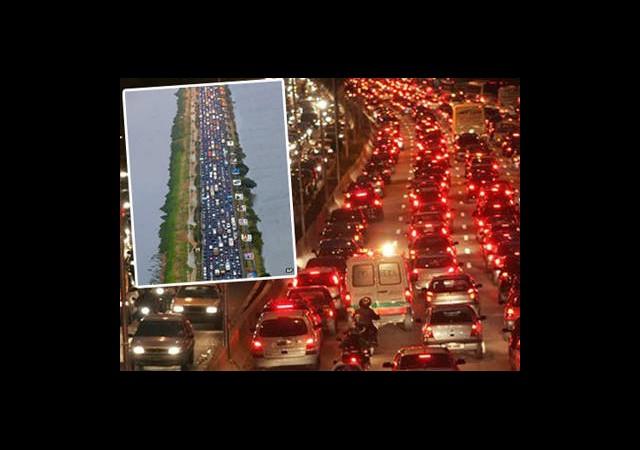 İstanbul'dakine Trafik Mi Diyorsunuz?
