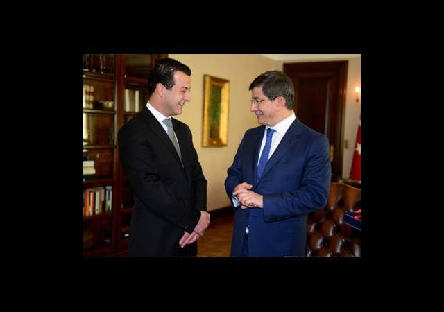 Davutoğlu, Tekin'i Kabul Etti