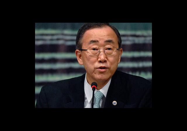 BM Genel Sekreteri Ankara'da