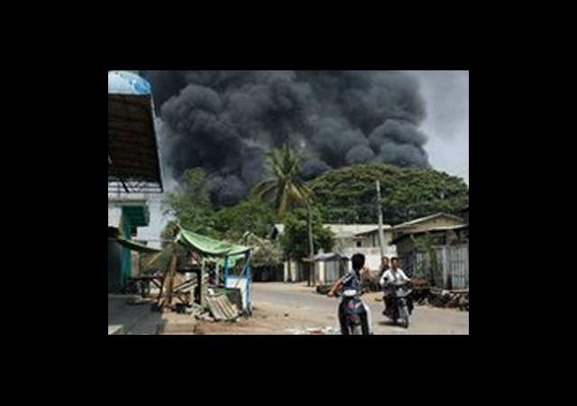 Birmanya'da Müslüman-Budist Çatışması