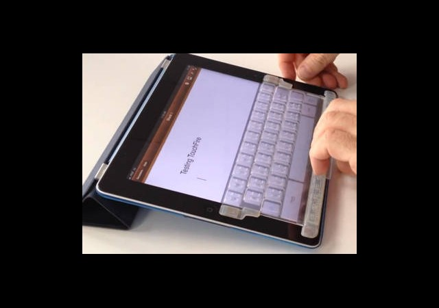 iPad'e Ekran Üstü Klavye