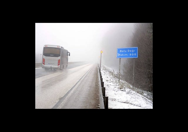 Kar Yağışı ve Sis Uyarısı
