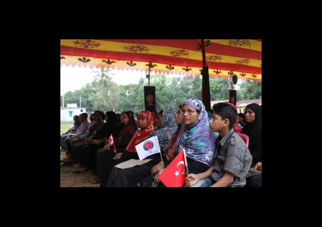 Türkiye'den Arakanlılara Eğitim Desteği