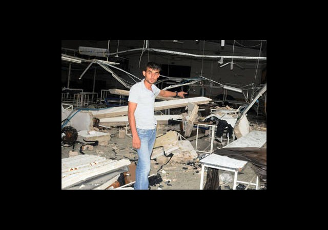 Karabük'te Şiddetli Fırtına