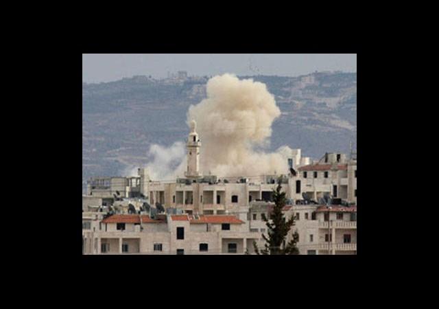 Humus'ta Sağlam Bina Kalmadı