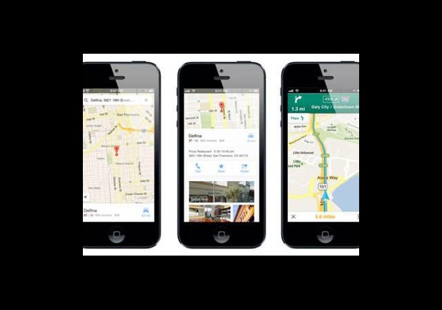 iPhone İçin Google Maps Güncellendi