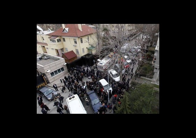 ABD Büyükelçiliği Önünde Protesto