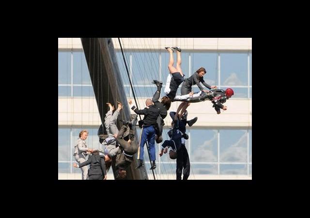 Galeri: Iron Man 3 Setinde Zorlu Sahne
