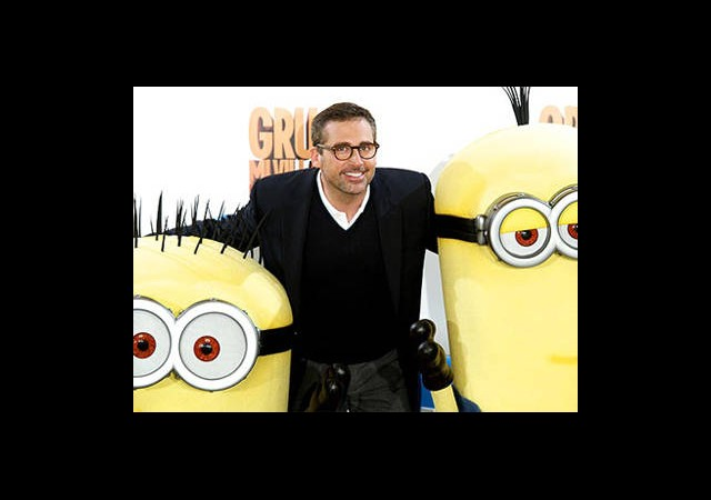 Steve Carell ve Despicable Me