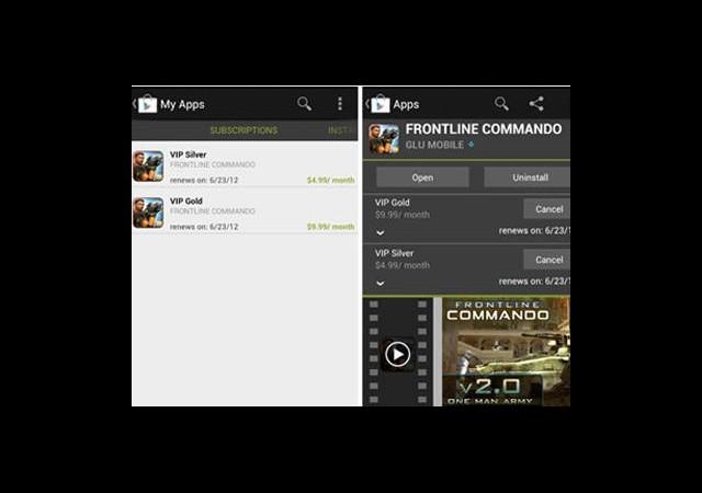 Android'e Uygulama İçin Aboneli Sistemi Geldi!