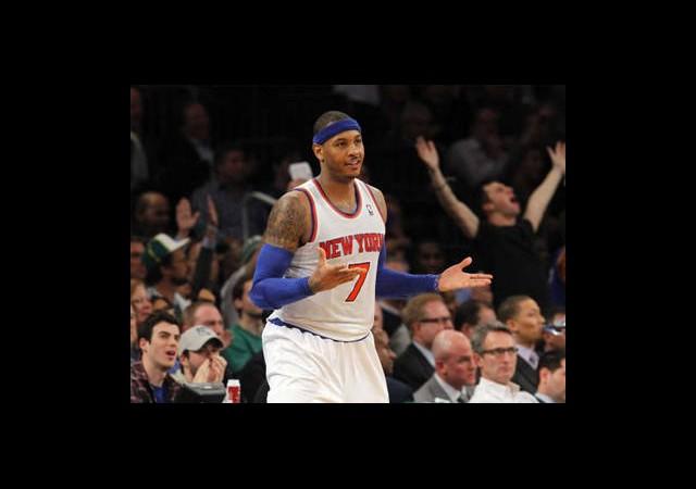 Carmelo Anthony 28 Sayı Attı