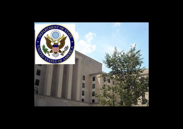 ABD Dışişleri Bakanlığı'nda Yangın