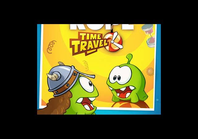 Cut the Rope: Time Travel Yayınlandı